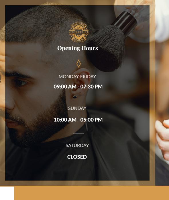 Best Barber Shops in NYC, Homepage